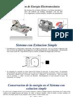 Energia de Exitacion Simple