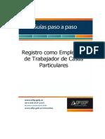 Servicio Domestico Afip Paso a Paso Casas Particulares 62015