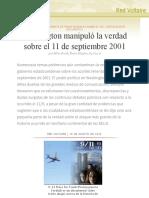 Washington manipuló la verdad sobre el 11 de septiembre 2001, por Mike Smith, Nolan Higdon, Sy Cowie.pdf