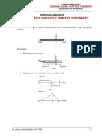 Ejercicios Resueltos - Diagrama Fuerza Cortante y Momento (1)