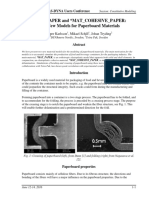 MAT_PAPER and MAT_COHESIVE_PAPER - Two New Models for Paperboard Materials