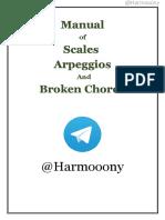 Scales Arpeggios and Broken Chords