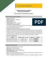 Plan Docente Bioquímica