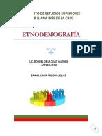 DEMOGRAFIA ESTATICA