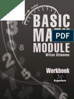 Workbook of the Basic Math Modulet.wilton Oltmanns