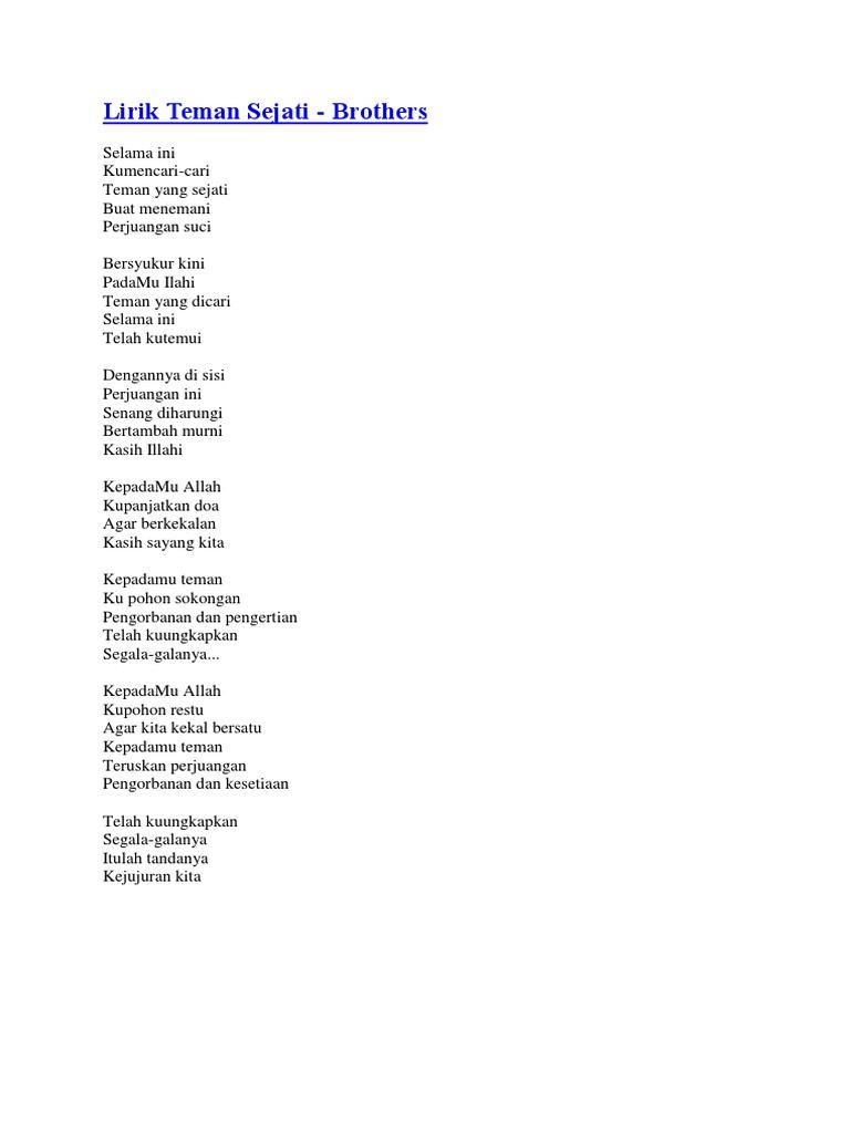 Lirik Nasyid Popular Pdf