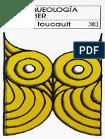Arquelogia del saber michael foucault .pdf