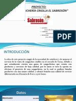 DIAPOSITIVAS PROYECTO SANGUCHERIA CRIOLLA EL SABROSON.ppt