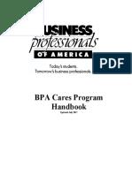 2017-18 bpa cares handbook