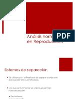 análisis hormonales