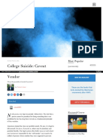 Https Fee Org Articles College-suicide-caveat-Vendor