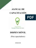 Manual Del Capacitador de Capacitación.