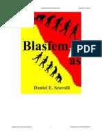 Blasfemias - Daniel E Scorolli