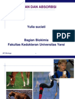 Biokimia-pencernaan & Absorbsi (Dr.yulia)