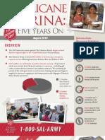 Salvation Army Katrina Report