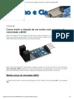 Arduino e Cia_ Como Medir a Rotação de Um Motor Com o Sensor de Velocidade LM393