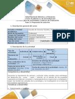 1- Guía y Rúbrica Evaluación Fase 3- Propuesta de Solución