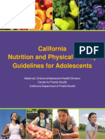 NUPA Guidelines Adolescents