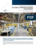 Industrial Manufacturing Machinery Flyer Web