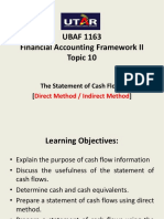 Topic 10- Cash Flow