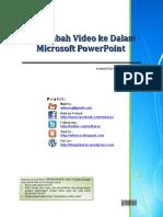 Menambahkan Video Ke Dalam Microsoft Power Point