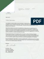 reference letter ken mack