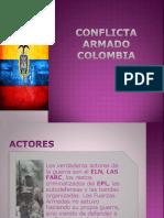 Conflicta Armado Colombia y tratado de paz