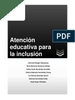 Atención Educativa Para La Inclusión 1