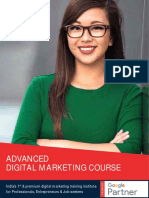 Delhi School of Internet Marketing Full Course Curriculum