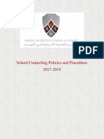 aus school counseling policy and procedures  1