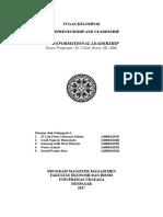 Paper of Entrepreneurship and Leadership