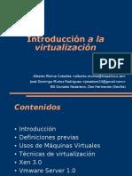 INTRODUCCIÓN MÁQUINAS VIRTUALES