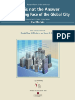 The Changing Face of the Global City