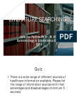 Literature Searching 2012