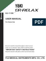 Ec1700 Manual