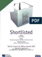 eOffice Award BCO Award - Shortlist Winner 2007 07