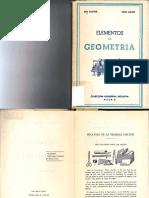 Elementos Geometria Rey Pastor y Puig Adam