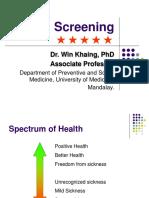 Screening(Dr.wk)