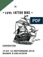 Dossier de Presse arcachon tattoo convention 2018