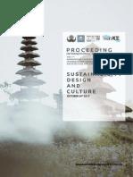 PROSEDING Warmadewa University International Conference Sustainability, Design, And Culture (WUICACE)