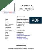 Andreia Torres Nutricionista