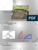 Factors Mass Wasting