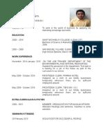Mala Mohamadali Resume 2016