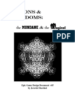 Prisons and Freedoms Design Document
