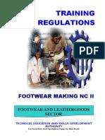 TR Footwear Making NC II