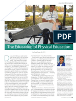 The Education of Physical Education by David Geslak, BS, CSCS