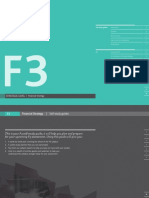 F3 Self Study Guide