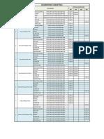 Submittals Log Sheet