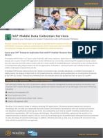SAP Mobile Data Collection Services