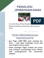 Dr. Ira Teori Perkembangan Psikokognitif Jean Piaget